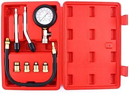 Ocamo Outil dessai de Diagnostic Automatique du Cylindre du Cylindre de Compression du kit du testeur du Moteur dEssence de indicateur de Pression de Type Rapide Accessoires de Voiture