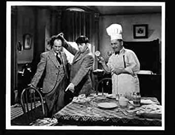 Photo The Three Stooges Cooking Dinner