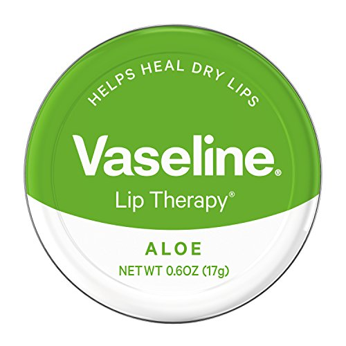 Lip Therapy Aloe (Vaseline Lip Therapy Lip Balm Tin, Aloe Vera, 0.6 oz)