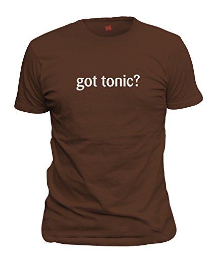 Vodka Chocolate Milk (shirtloco Men's Got Tonic T-Shirt, Dark Chocolate Small)