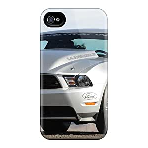 (bweiHae5224RxoPG)durable Protection Case Cover For Iphone 4/4s(2010 Ford Mustang Cobra Jet)