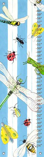 Shelly Kennedy Oopsy Daisy (Oopsy Daisy Bugs and Stripes by Shelly Kennedy Growth Charts, 12 by 42-Inch)