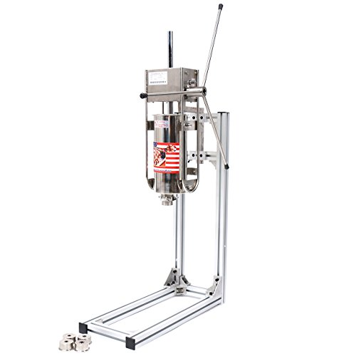 Churros Maker- Commercial Churros Machine in Restaurant Grade Stainless Steel with 12 Liter Deep Fryer for Easy, Authentic Mexican Churros, Churreria, uses 110V, a U.S. Solid Product by U.S. Solid (Image #4)