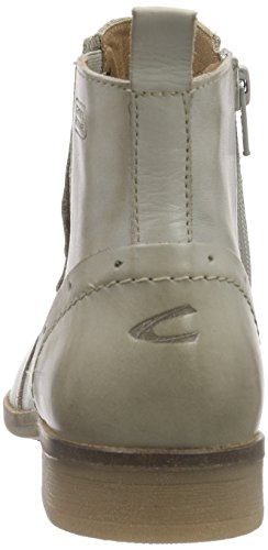 camel active Santana 72 Damen Chelsea Boots Grau (Ice)
