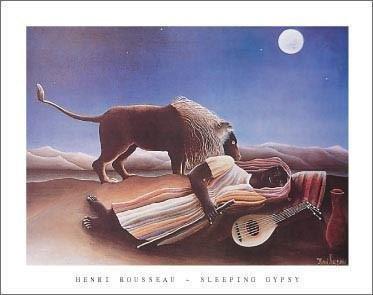 - Henri Rousseau - Sleeping Gypsy