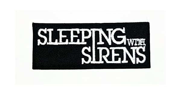 PUNK ROCK METAL MUSIC SEW/IRON ON PATCH:- SLEEPING WITH SIRENS: Amazon.es: Hogar