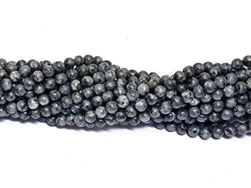 "Natural 6mm natural Gemas Labradorita redonda suelta granos 15/"" AAA"