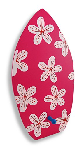 Wooden-Surfboard-With-Flowers-Decorative-Wall-Hook