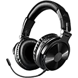 Bluetooth Over Ear Headphones, OneOdio Wireless/Wired 30 Hrs Stereo Bluetooth Headsets w/Extended Mic, Foldable Headset with Deep Bass, 50mm Neodymium Drivers for PC/Phone