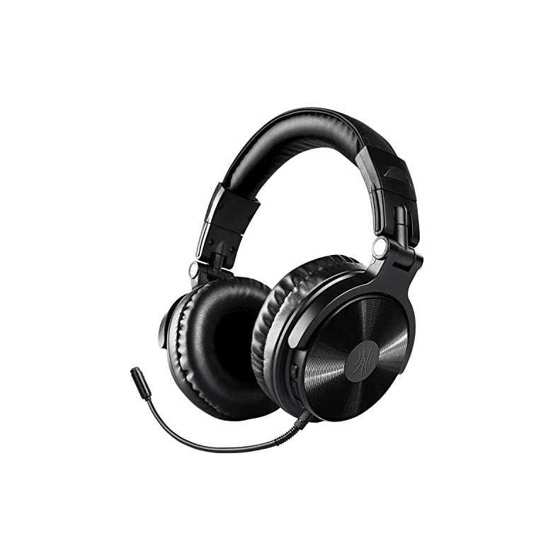 Foldable Headset With Deep Bass 50mm Neodymium Drivers For Pc Phone Bluetooth Over Ear Headphones Oneodio Wireless Wired 30 Hrs Stereo Bluetooth Headsets W Extended Mic