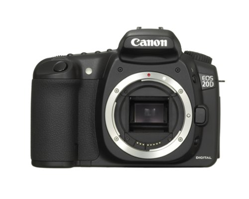 Canon EOS 20D DSLR Camera (Body Only) (OLD (8000 Flash Memory Card)