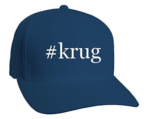 krug-hashtag-adult-baseball-hat-blue-large-x-large