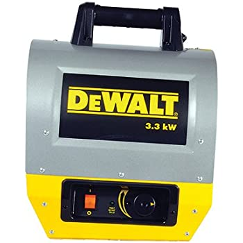 Dewalt Dxh330 Electric Forced Air Construction Heater