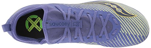 Saucony Women's Havok XC2 Flat Track Shoe Purple/Yellow 5.5 M US by Saucony (Image #7)