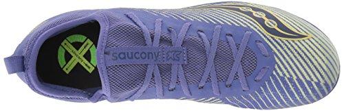 Saucony Women's Havok XC2 Flat Cross Country Running Shoe, Purple/Yellow, 5 M US by Saucony (Image #7)