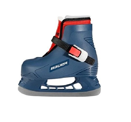 Bauer LIL Angel Champ Skates, Blue, 6-7 by Bauer (Image #1)