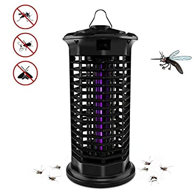 Big Devil Electric Bug Zapper, Powerful Mosquito Trap, Insects Killer with Hook, Light-Emitting Mosquito Lamp for Indoor Home Bedroom,Kitchen, Office