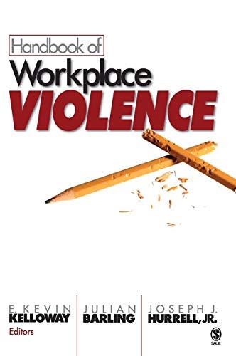 Handbook of Workplace Violence