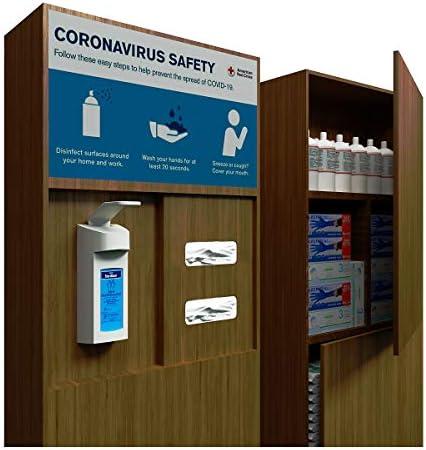 Hygiene-Station | Storage | Desinfektionsspender Desinfektionsstation Desinfektionssäule