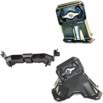 Engine /& Manual Transmission Mount Set 3PCS for Jeep Liberty 2002-2005 V6 3.7L