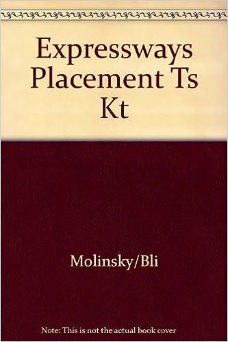 Amazon kindle e-BookStoreExpressways Placement Test Kit en español PDF