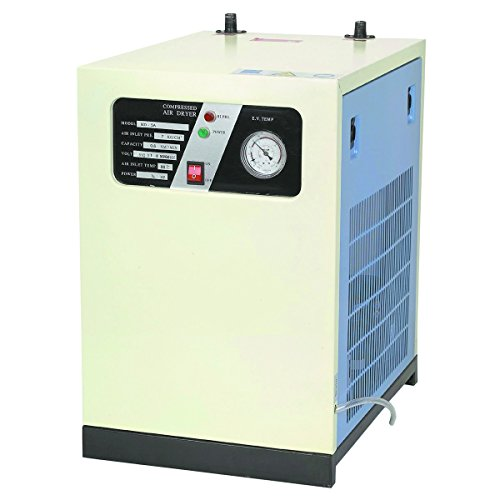 Compressed Air Efficiency - 3-IN-1 REFRIGERATED COMPRESSED AIR DRYER SYSTEM COMPRESSOR