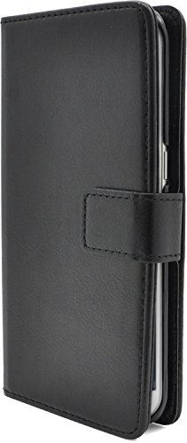 放棄する次へ経験的PLATA Galaxy S7 edge SC-02H / SCV33 ケース 手帳型 カラー レザー スタンド ケース ポーチ 手帳 カバー 【 ブラック 黒 くろ black 】 DSC02H-77BK