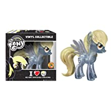 Funko My Little Pony: Derpy Vinyl Figure, Clear Glitter (SDCC Amazon Exclusive)