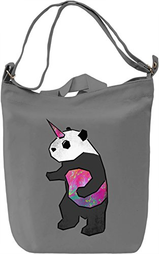 UniPanda Borsa Giornaliera Canvas Canvas Day Bag| 100% Premium Cotton Canvas| DTG Printing|