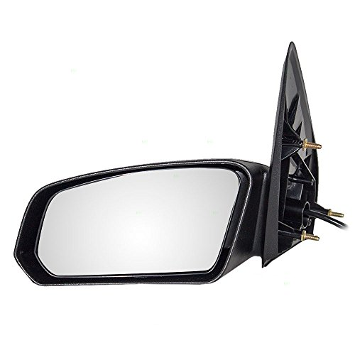 (Power Side View Mirror Textured Driver Replacement for 03-07 Saturn Ion Sedan 22726680)