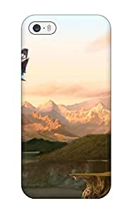 Flexible Tpu Back Case Cover For Iphone 5/5s - Spaceship