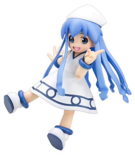 Kotobukiya - Shinryaku! Ika Musume figurine Plastic Model Kit Squid Girl 13 c (Squid 1 Girl 1)