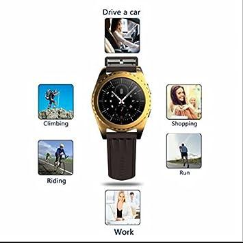 Podómetro Correr Smartwatch, Cámara de control remoto reloj ...
