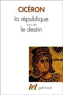 De la republique par Cicéron