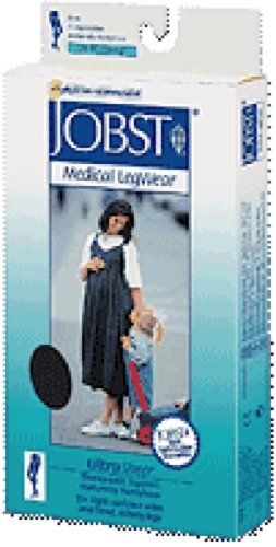 BSN Jobst UltraSheer Firm Compression Maternity Pantyhose Small, Classic Black, Closed Toe, Latex-free (1 Each) by BSN Medical
