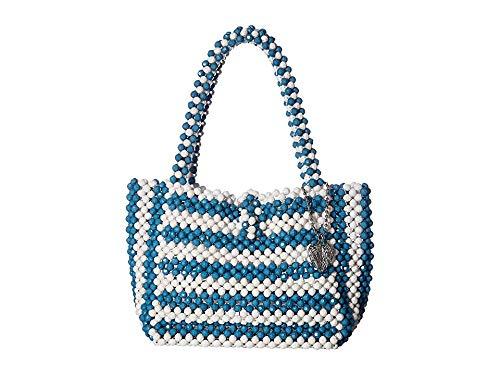 Betsey Johnson Just Bead It Bag, blue