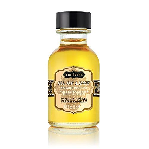 Kama Sutra Kissable - Kama Sutra Oil of Love Vanilla Creme, 0.75 Fluid Ounce