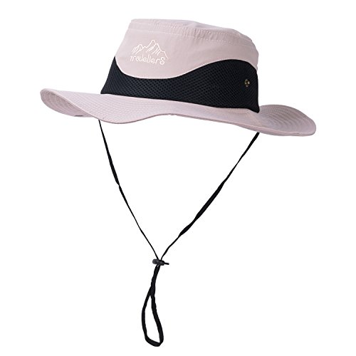 Vadventure Sun Protection Fishing Hat Waterproof Mens and Womens Wide Brim Summer Boonie Hats for Hunting Hiking Camping and Beach