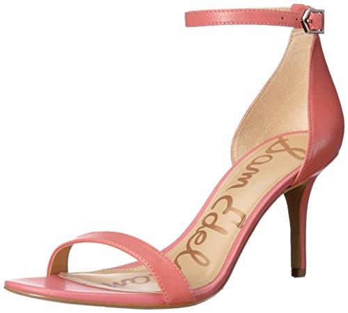 Tacco col Sugar Leather Scarpe Sam Pink EdelmanPatti Donna wxzAEtq