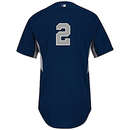 Image Unavailable. Image not available for. Color  Derek Jeter New York  Yankees Road Batting Practice Authentic Jersey ... 00327df42f5