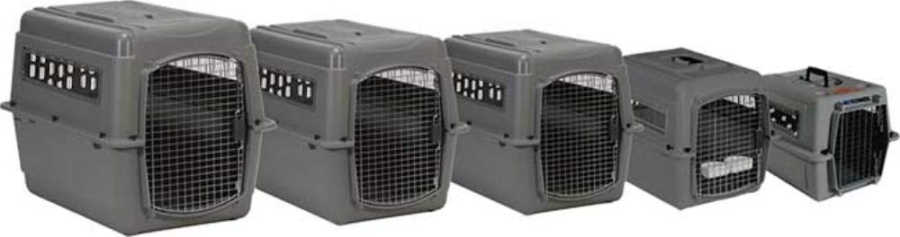 Petmate 00300 Sky Kennel for Pets from 30 to 50-Pound Light Gray