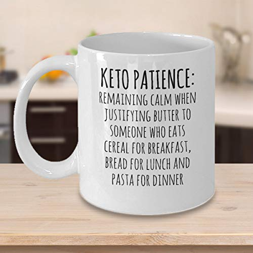 Amazon com: Keto Patience, Confidence Stay Strong Fitness