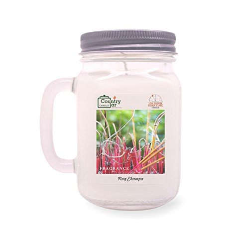 Country Jar NAG Champa Soy Candle (14.5 oz. Mason Jar) Spring Pick-3 Sale! See Details.