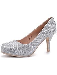 PAOLA06 Cinderella Princess Sparkle Crystal Gem...