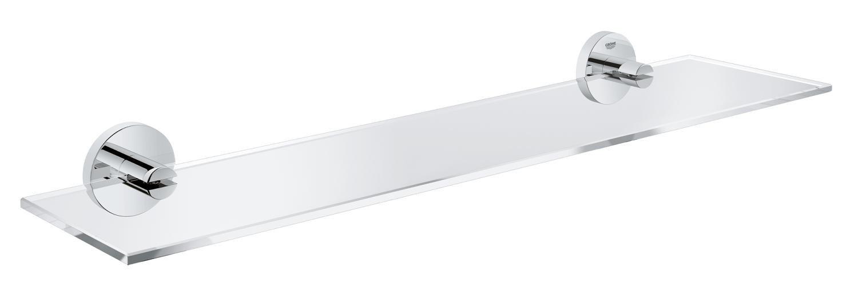 GROHE 40799DC1 Essentials Shelf, Super Steel, 600 mm