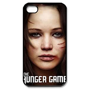 QSWHXN Customized Print The Hunger Games Pattern Back Case for iPhone 4/4S