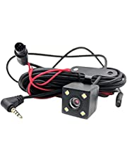 Dash Cam Full HD 5 Pin 1080P 170°Rear View Backup Camera 6.303.941.57in 4LEDlampBeads with Loop Recording G-Sensor and 24H Parking Assistance Night Vision