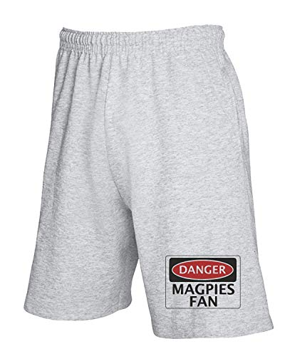 Grigio Pantaloncini shirtshock Tuta T Safety Wc0300 Fan Danger Funny Fake Magpies fqPStwxtn