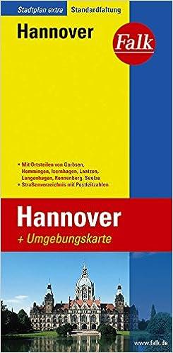 Falk Stadtplan Extra Standardfaltung Hannover: Amazon.de: Bücher