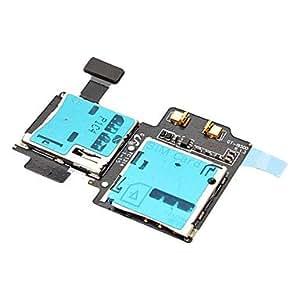 NEW Micro Sim & SD Holder / Reader Flex Assembly for Samsung Galaxy S4 I9500